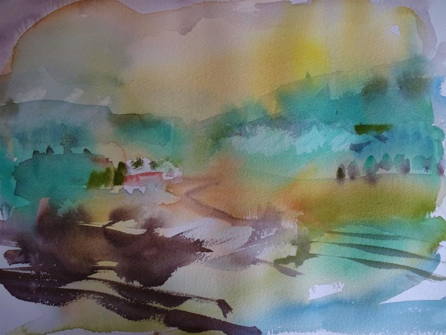 Rottal-im-Herbst-Aquarelle-Nadia-Baumgart