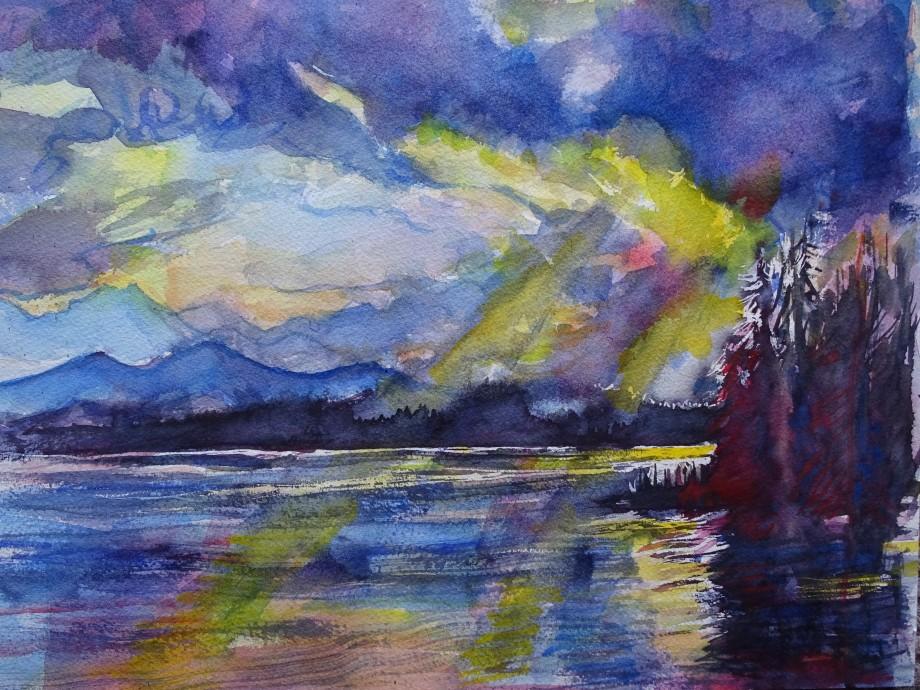 See-im-Oktober-Aquarell-Nadia-Baumgart
