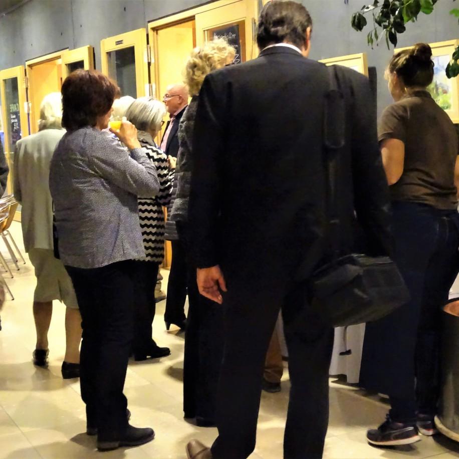 Vernissage Aquarell- Ausstellung Artrium Bad Birnbach