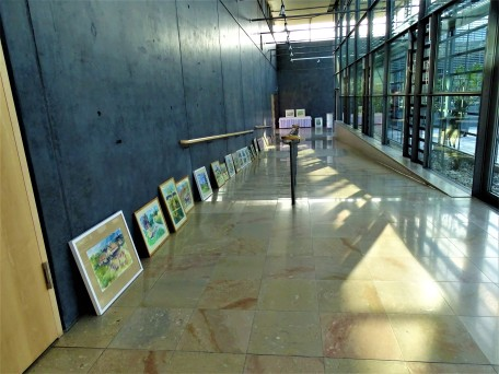 4-Vorbereitung-Ausstellung-Artrium-Bad-Birnbach