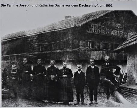 Der Dachsenhof von 1717