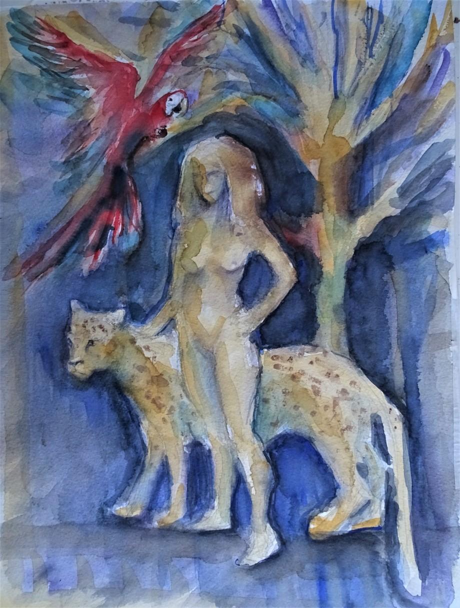 Goettin-Noreia-Aquarelle-Nadia-Baumgart