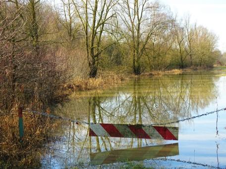 Hochwasser Rottauensee