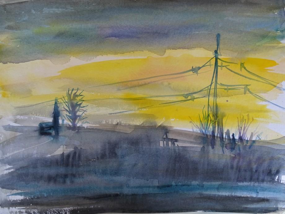 Landschaft-Aquarelle-Nadia-Baumgart