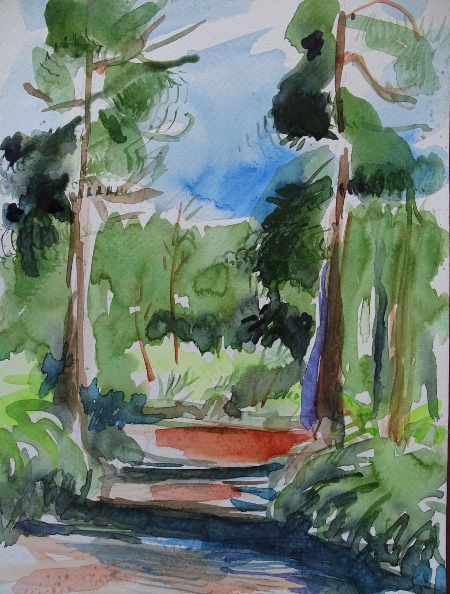 Park-Azoren-Aquarell-Nadia-Baumgart-2