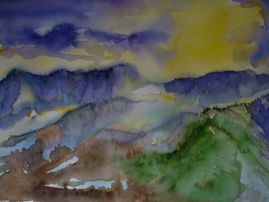 Utopische-Landschaft-Aquarell-Nadia-Baumgart