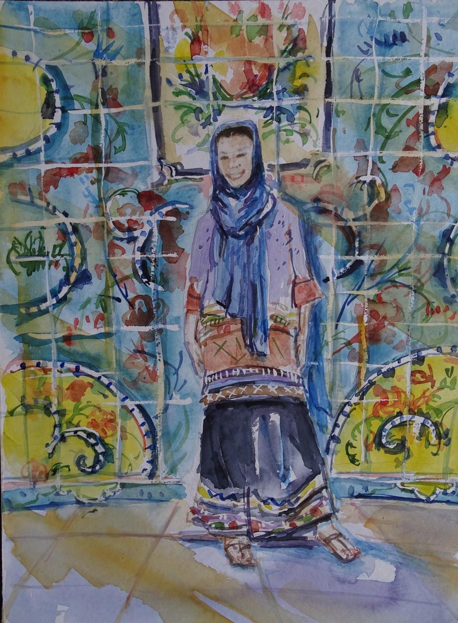 Marta-Iran-Aquarell-Nadia-Baumgart