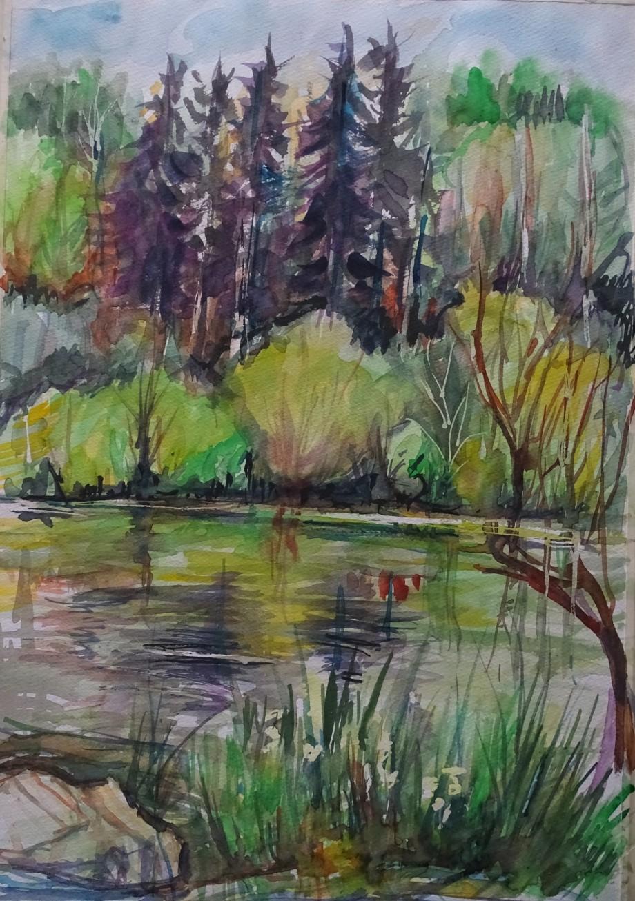 Landschaft-Mai-Aquarelle-Nadia-Baumgart
