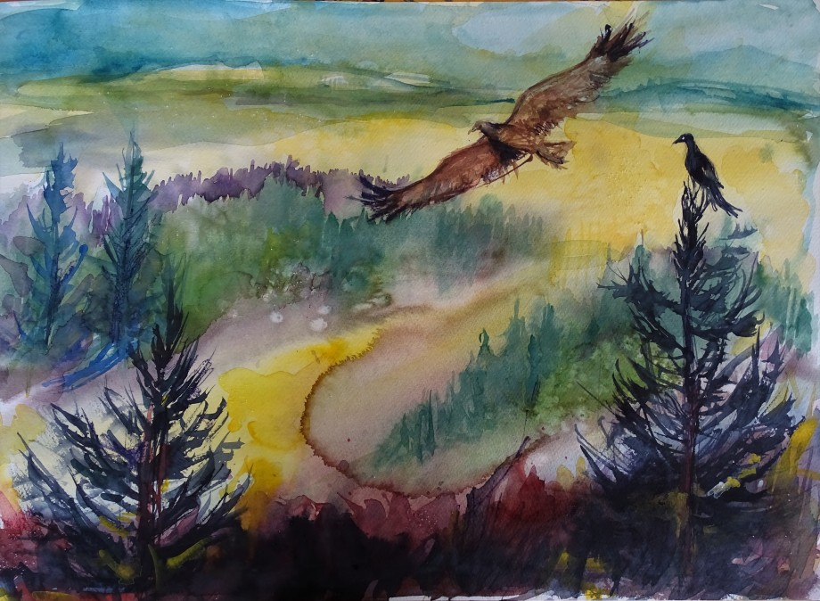 Wildness-Wald-Aquarelle-Nadia-Baumgart
