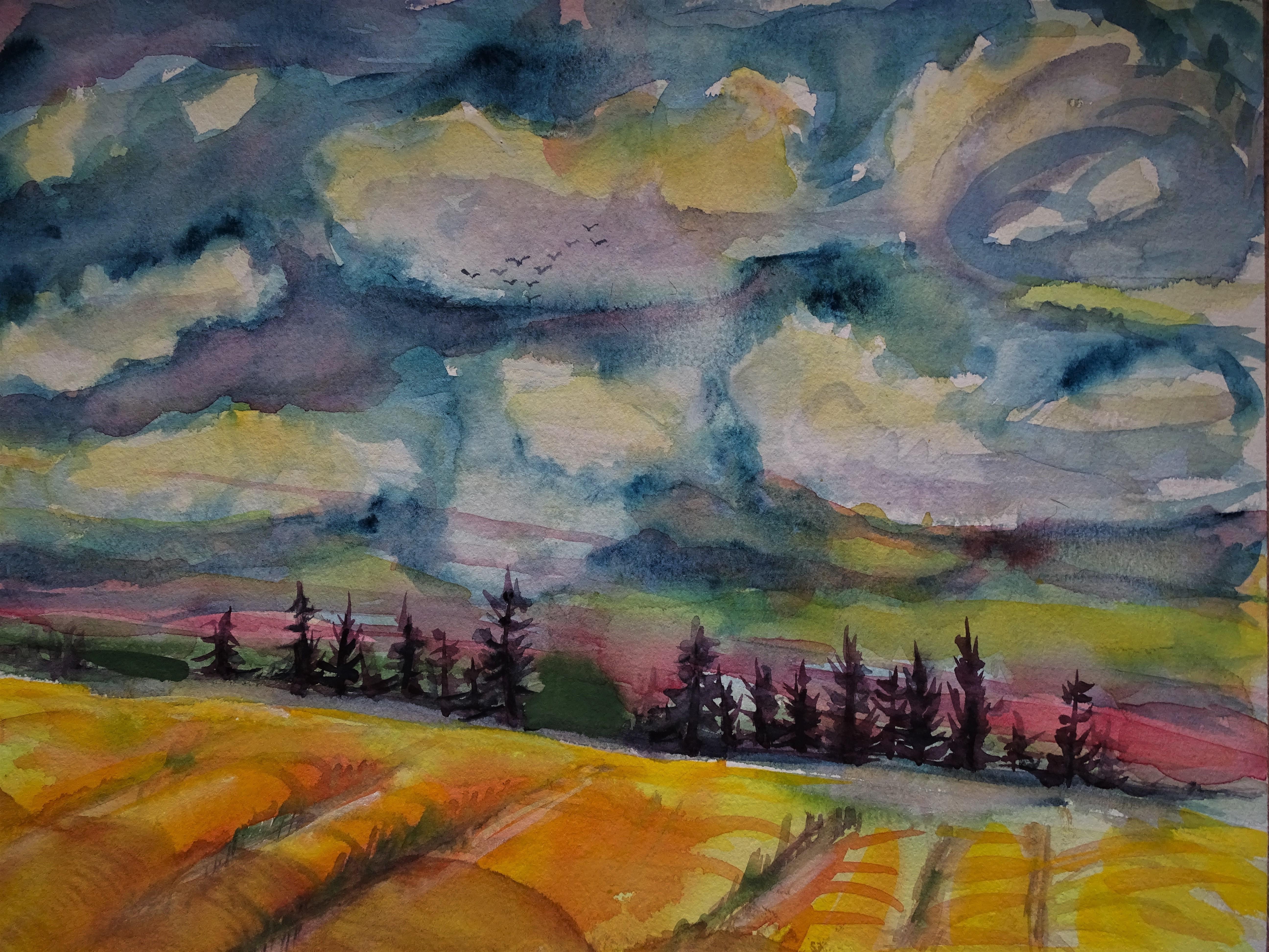 2-Niederbayerische-Landschaft-Malerei-Nadia-Baumgart
