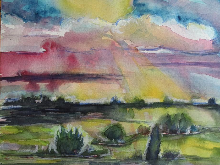 Niederbayerische-Landschaft-Malerei-Nadia-Baumgart