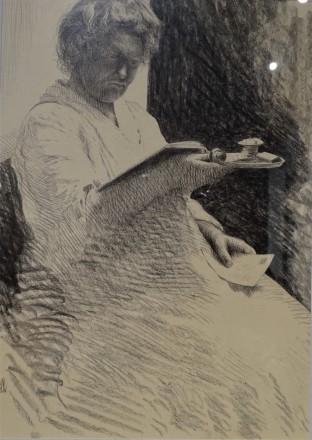 8-Franz-Xaver-Fischl-Die-Nachtleserin-1925