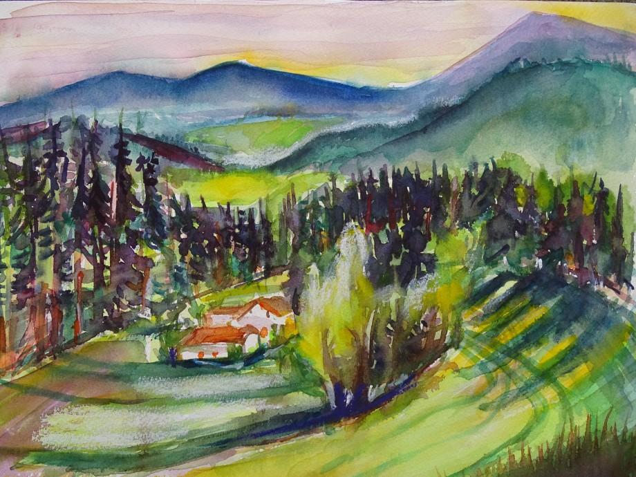 Das-Tal-Aquarelle-Nadia-Baumgart