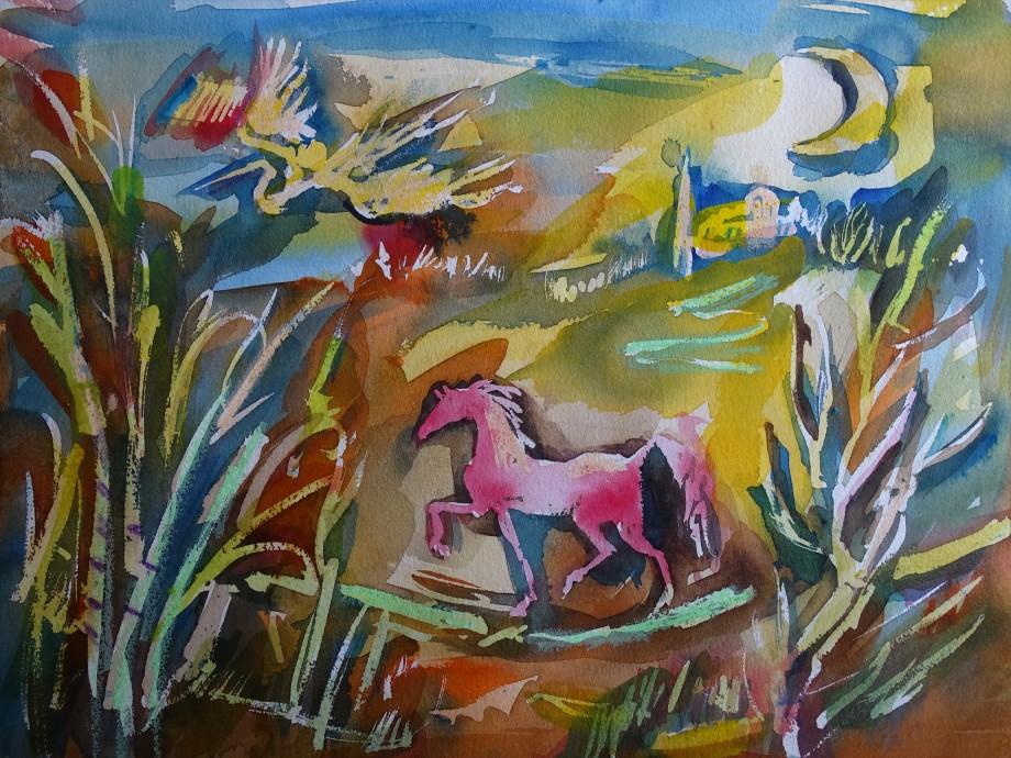 zeitmangel-aquarell
