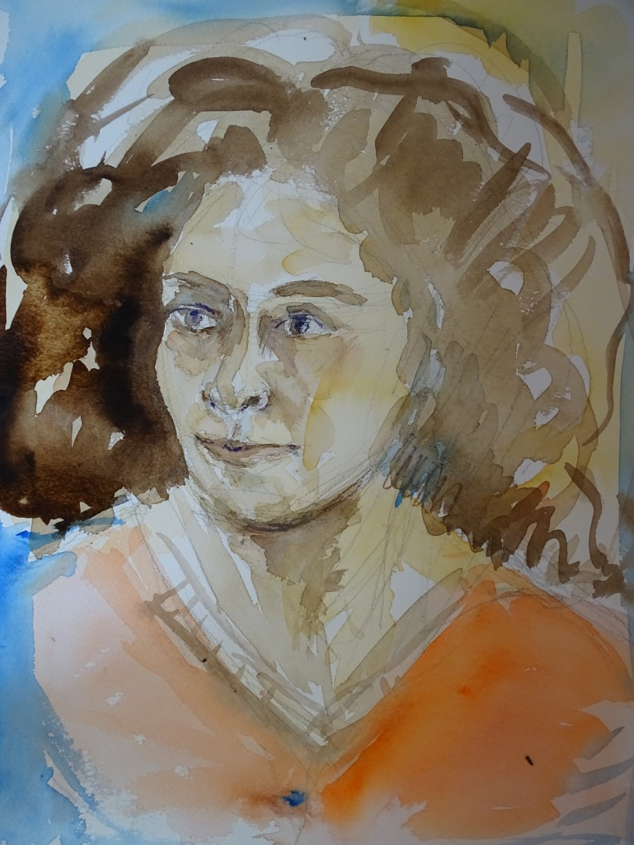 Portrait-Nadia-Baumgart-Aquarelle