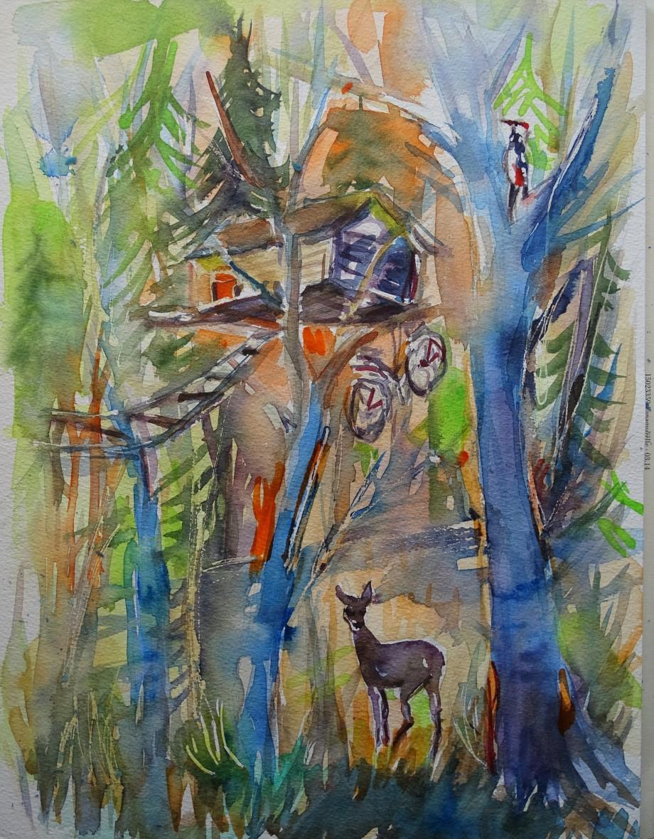 hambacher-forst-aquarelle-nadia-baumgart