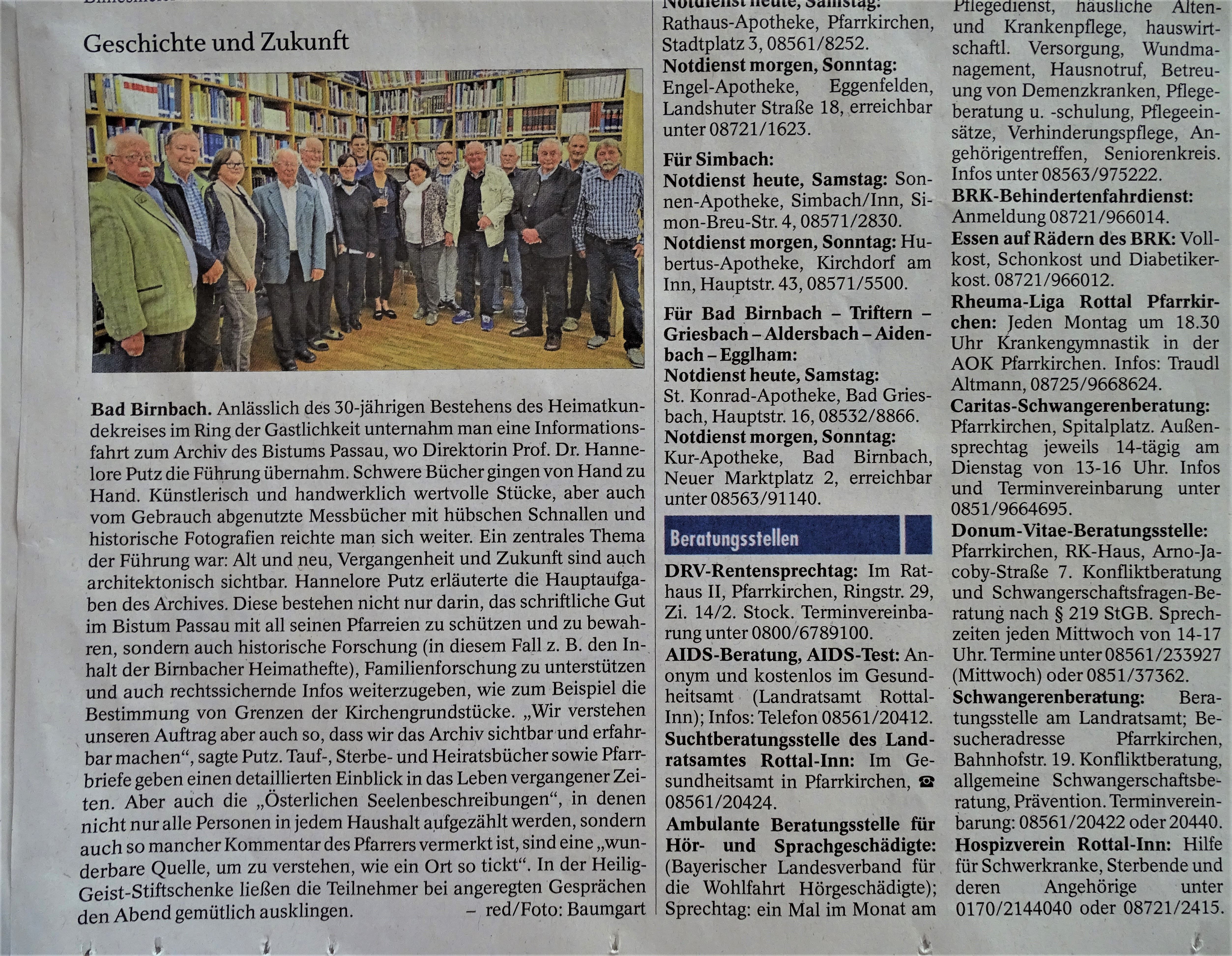 PNP_Oktober_2018_Heimatkundekreis_Bad_Birnbach_Nadia_Baumgart