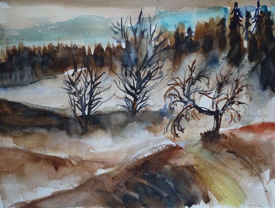 Nebel-2_Aquarelle_Nadia_Baumgart