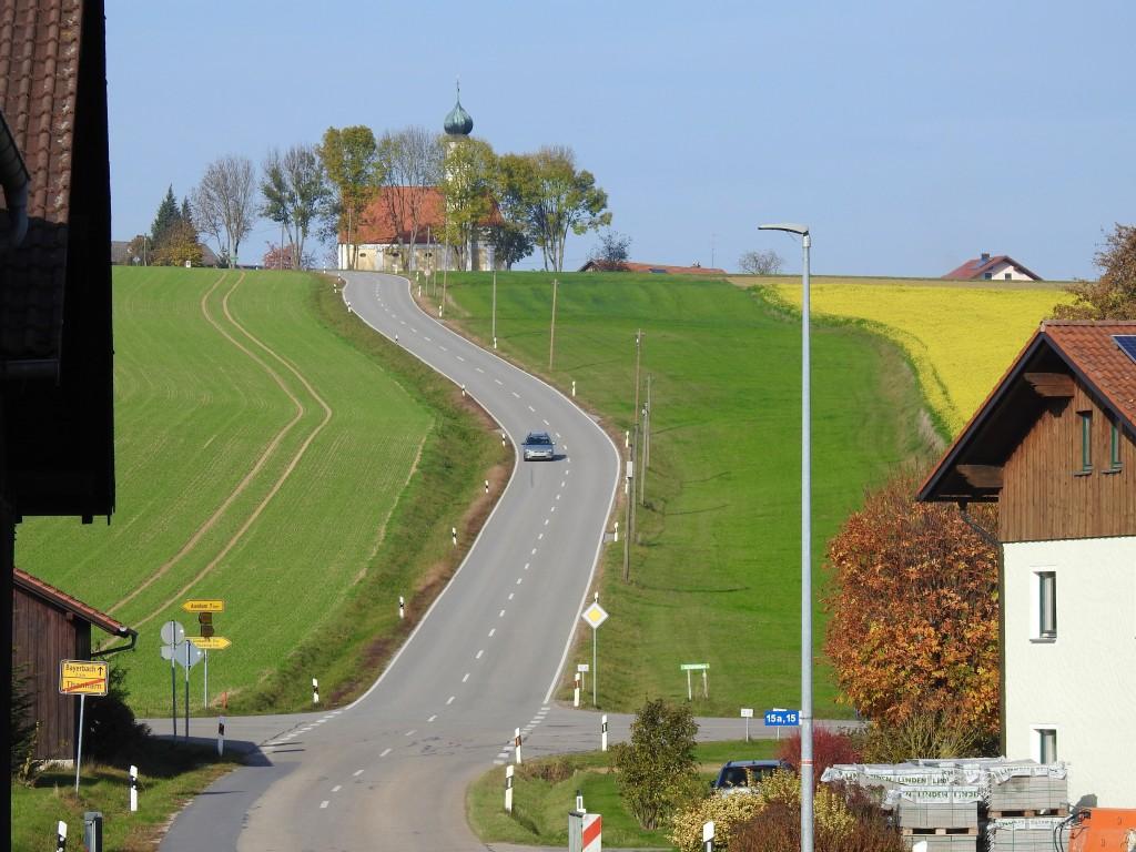 Niederbayerische Landschaft bei Langwinkl