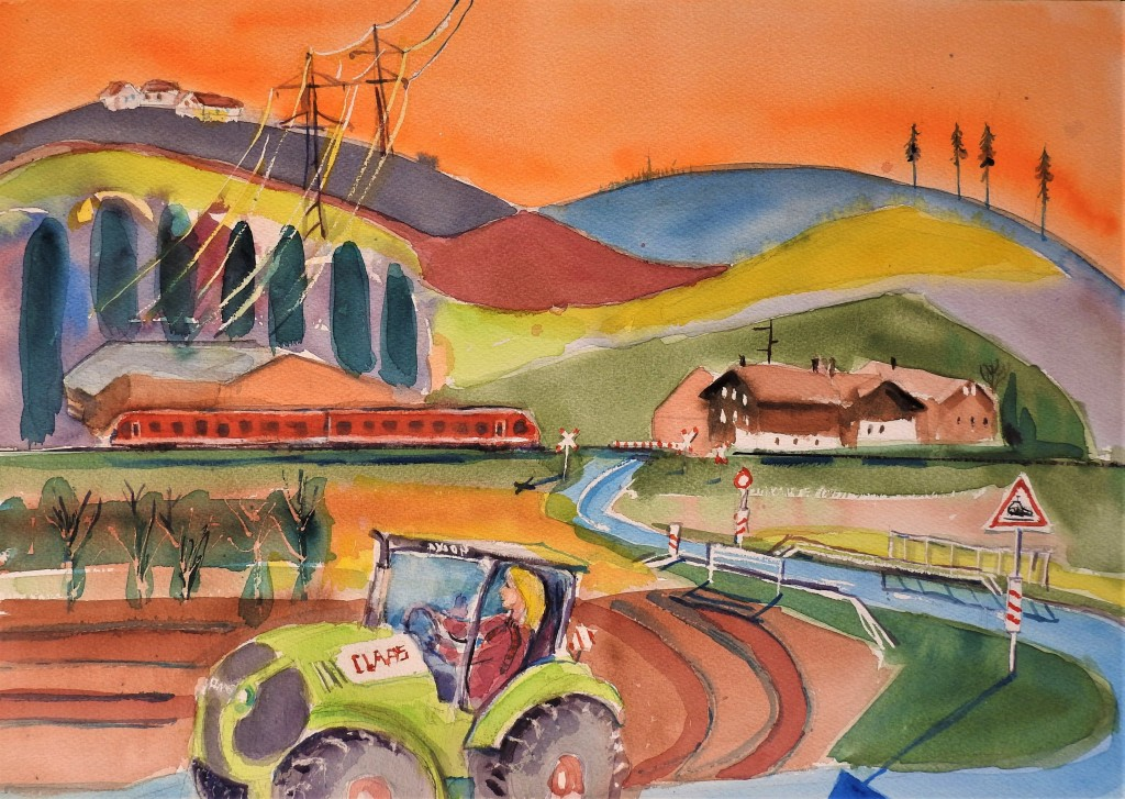 Landschaftsmalerei-zwischen-Rott-und-Inn - Rottaler-Landschaften