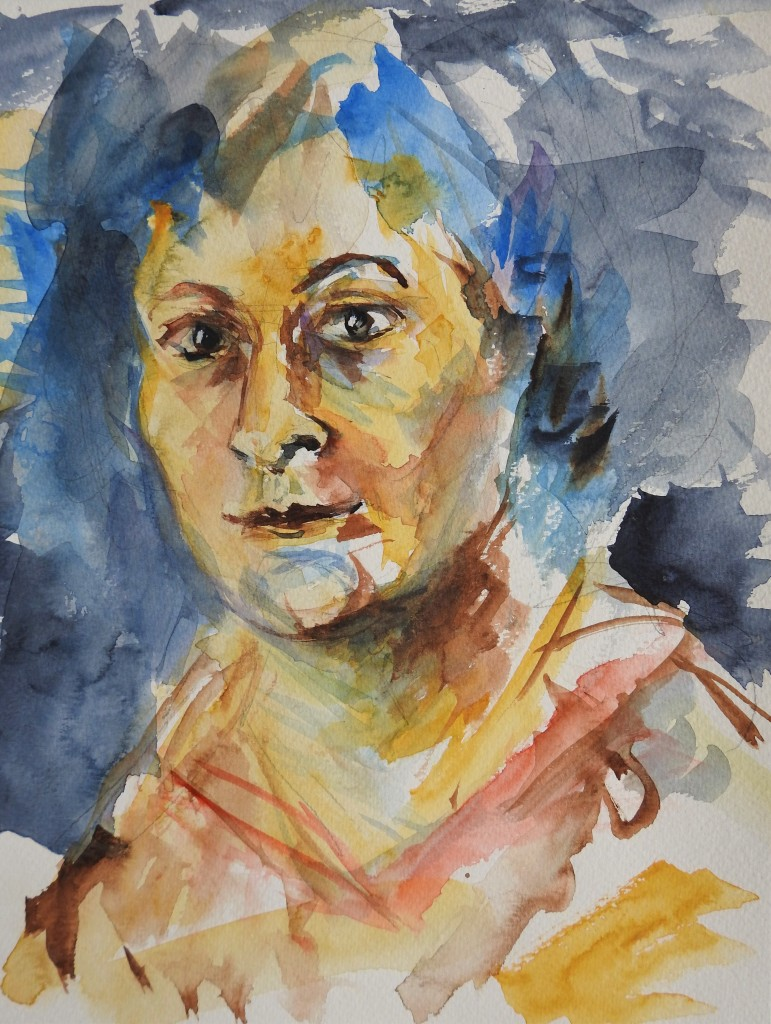 Autoportrait - Selbstportrait - Nadia Baumgart