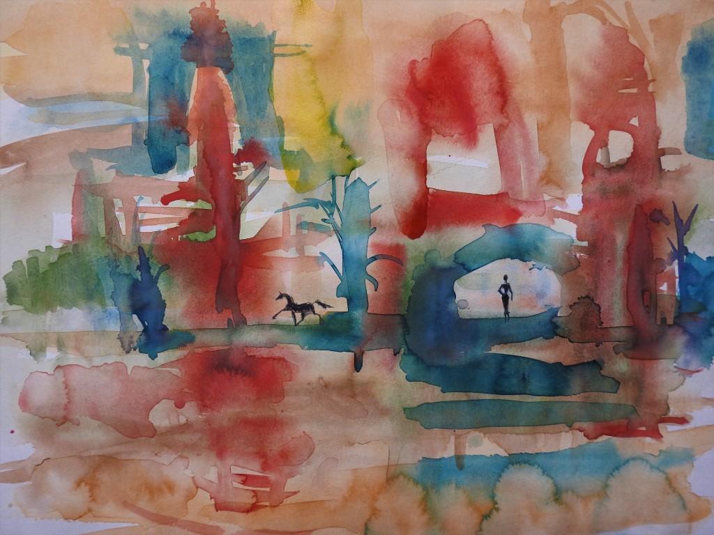 Aquarell von Nadia Baumgart