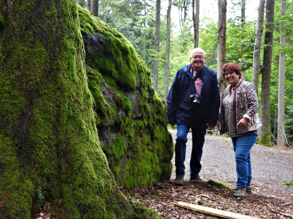 Nadia und Berndt im Bayerischen Wald 2020