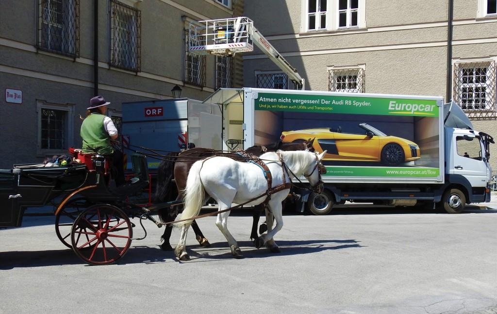 Alt und Neu in Salzburg