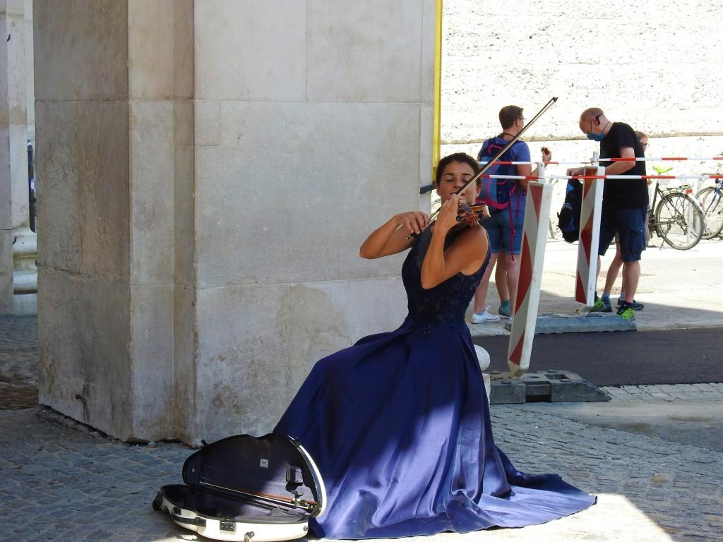 Straßenmusik in Salzburg