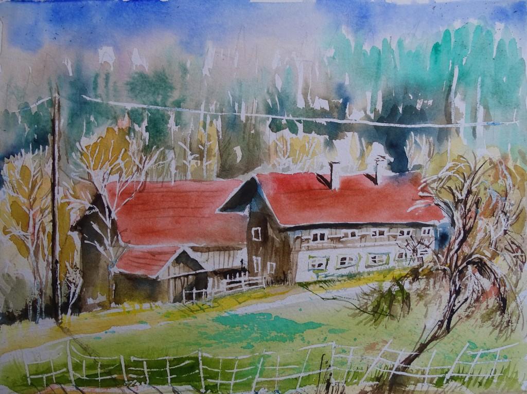 Landschaftsmalerei an Rott und Inn