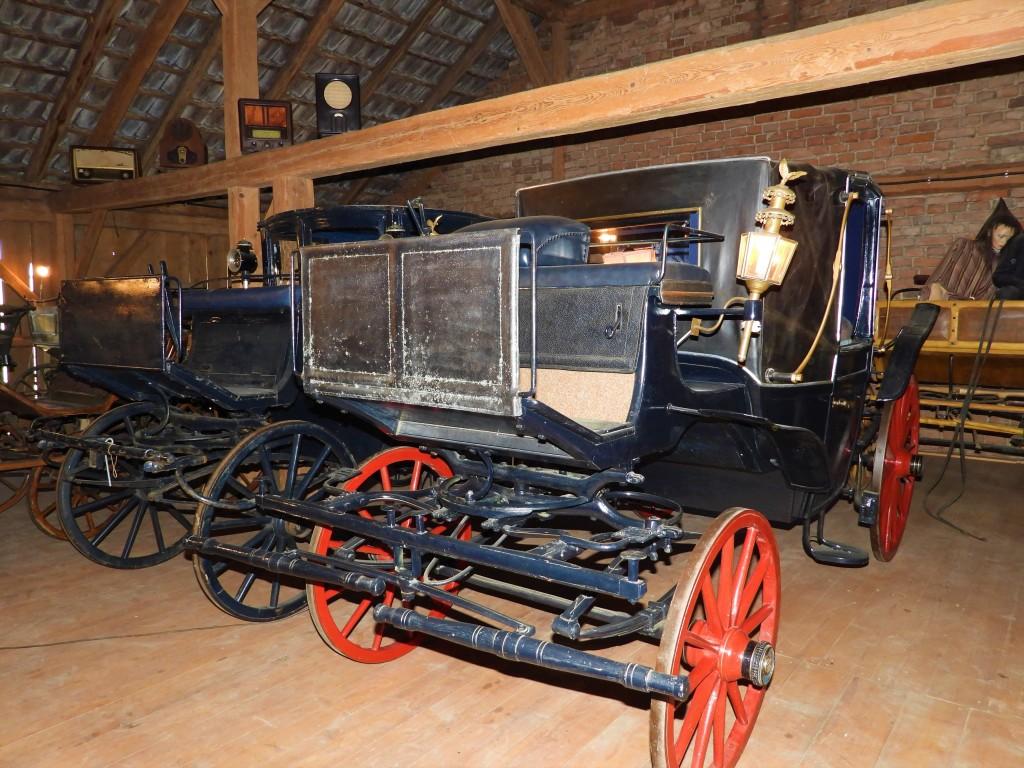 Landauer im Bauernmuseum Huber