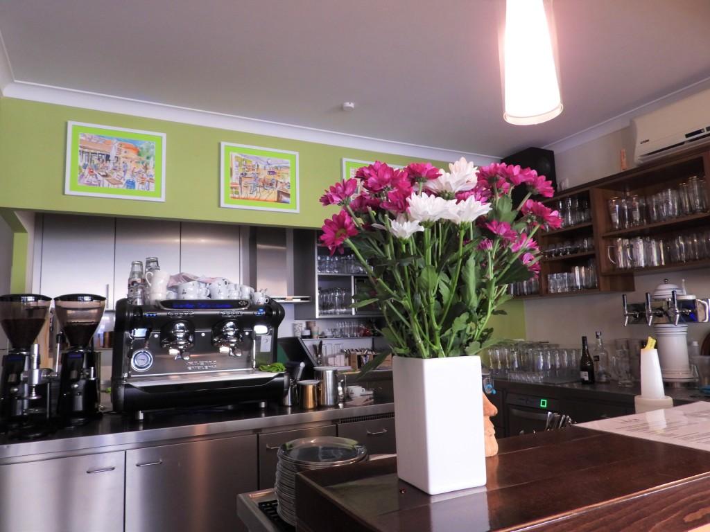 Kunst im Café ViaMar in Bad Birnbach