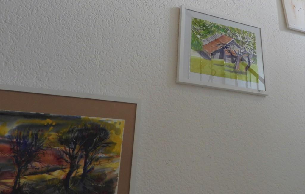 Landschaftsmalerei zwischen Rott und Inn - Künstlerin Nadia Baumgart