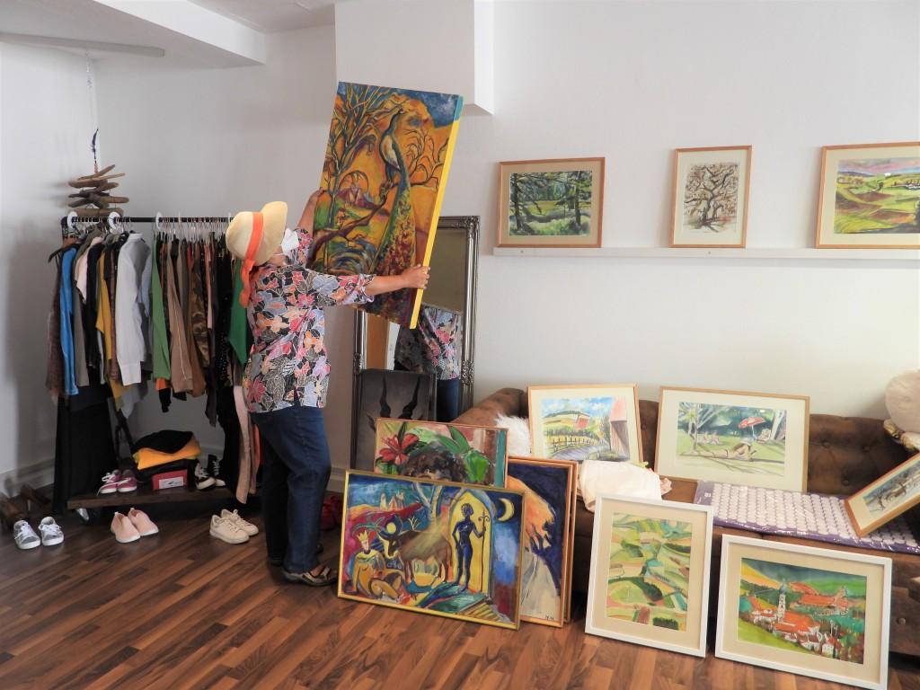 Ausstellung bei Petzis in der Hofmark in Bad Birnbach - Interessant, lebendig, fröhlich