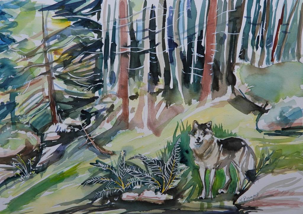Malerei von Nadia Baumgart