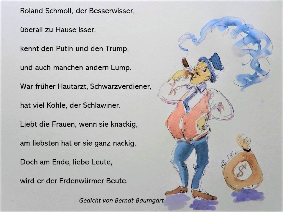 Gedichte und Lyrik von Berndt Baumgart - Der Besserwisser