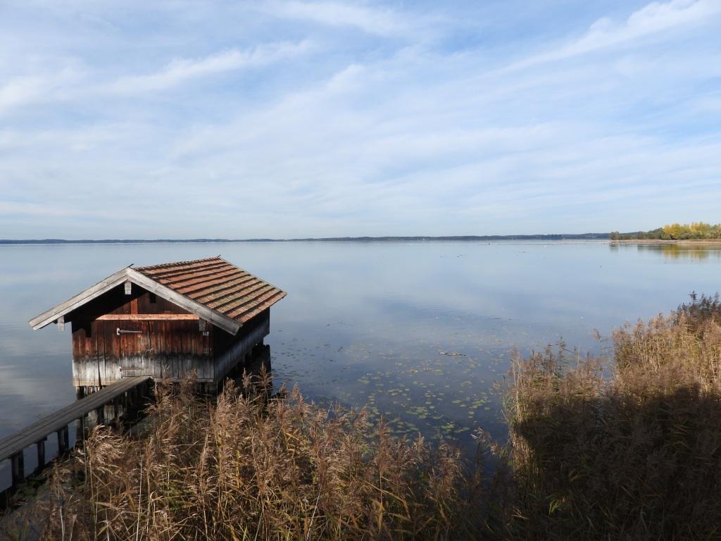 Lake Chiemsee in Bavaria